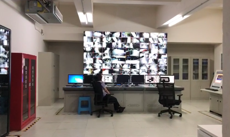 西南铝集团公司厂区监控系统项目